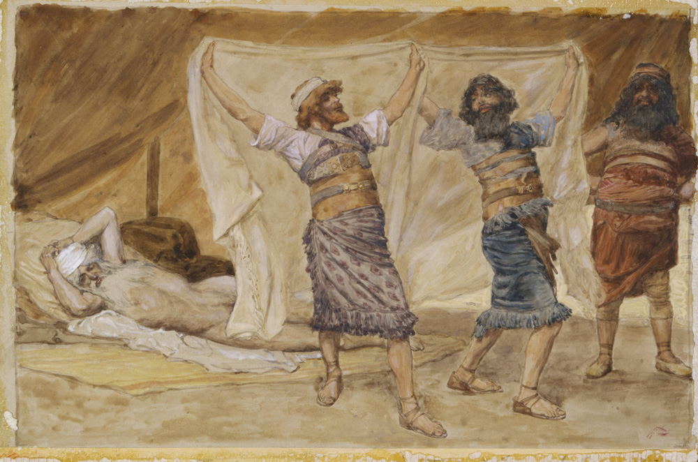 Noah's Drunkenness James Tissot, ca. 1806-1902. Jewish Museum, New York/Art Resource.