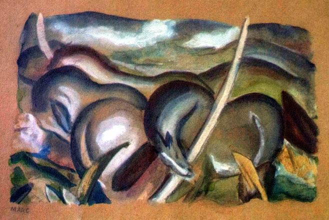Marc,_Franz_-_Pferde_in_Landschaft