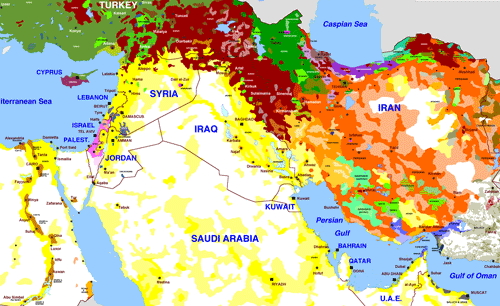 Ethnic Groups In Middle East 110