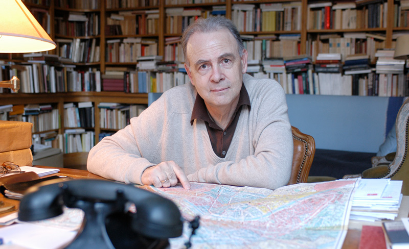 Patrick Modiano, winner of the 2014 Nobel Prize for literature, in 2004. Photo by Ulf Andersen/Getty Images.