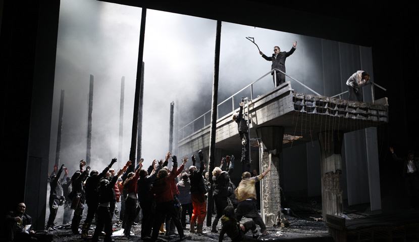 A 2010 production of Richard Wagner's Parsifal in Stuttgart, Germany. MICHAEL LATZ/AFP/Getty Images.