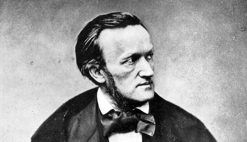 Richard Wagner in Paris in 1861. He was there for the premiere of his opera Tannhäuser. Wikipedia.