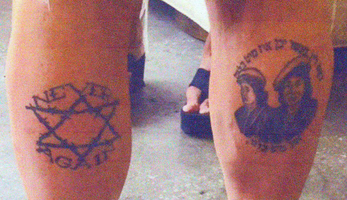 "<em>The legs of a ""feministically inclined Jewish patriot.""</em> Philologos."