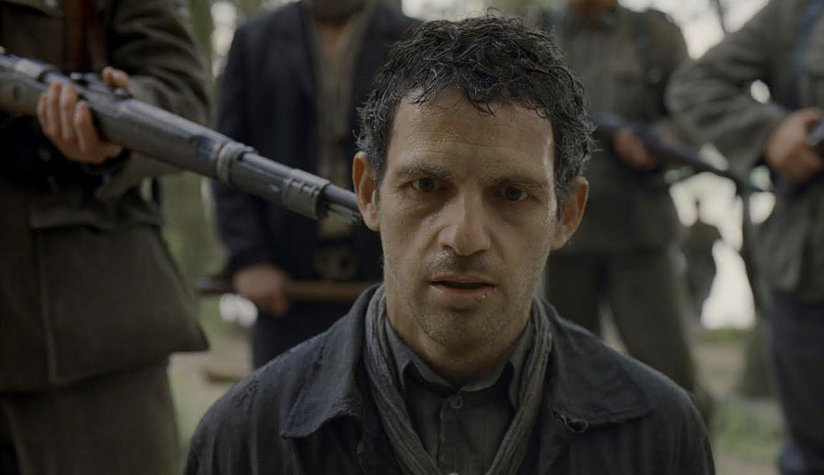 Geza Rohrig in Son of Saul. Sony Pictures Classics.