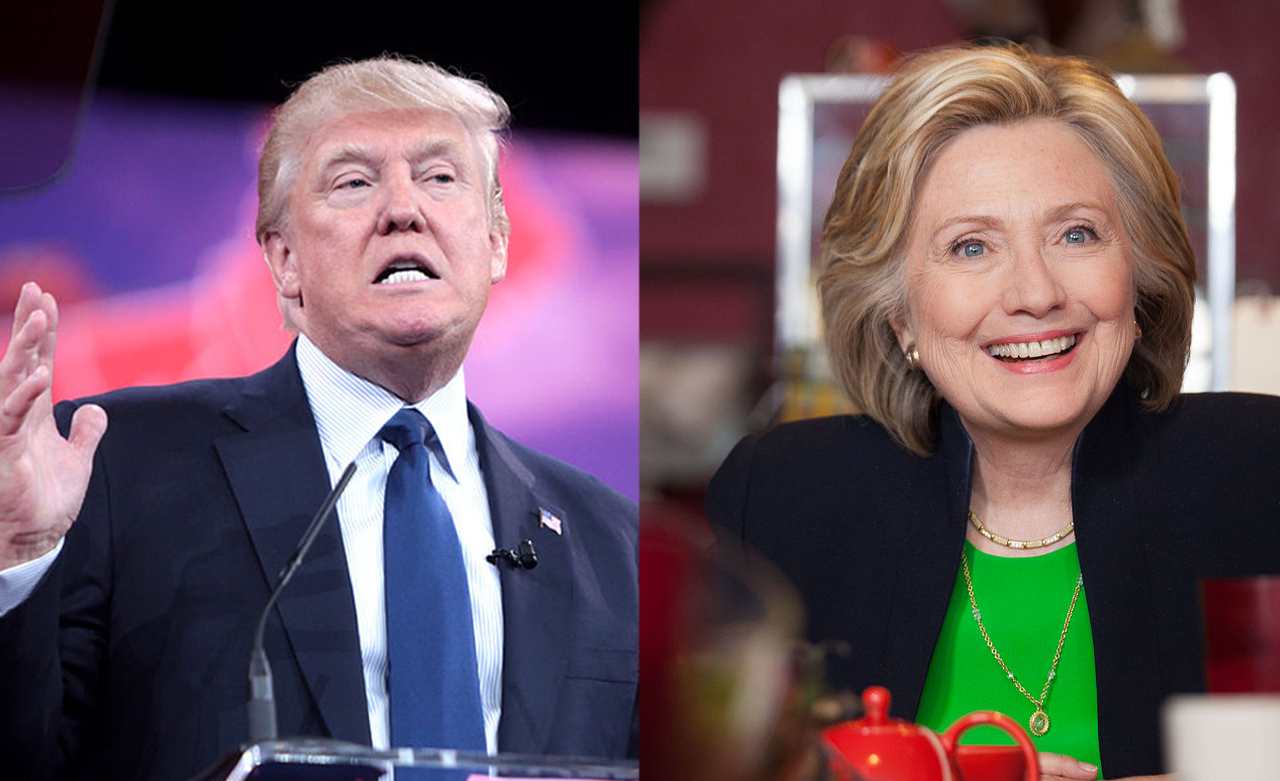 The Gematria of Hillary Clinton and Donald Trump