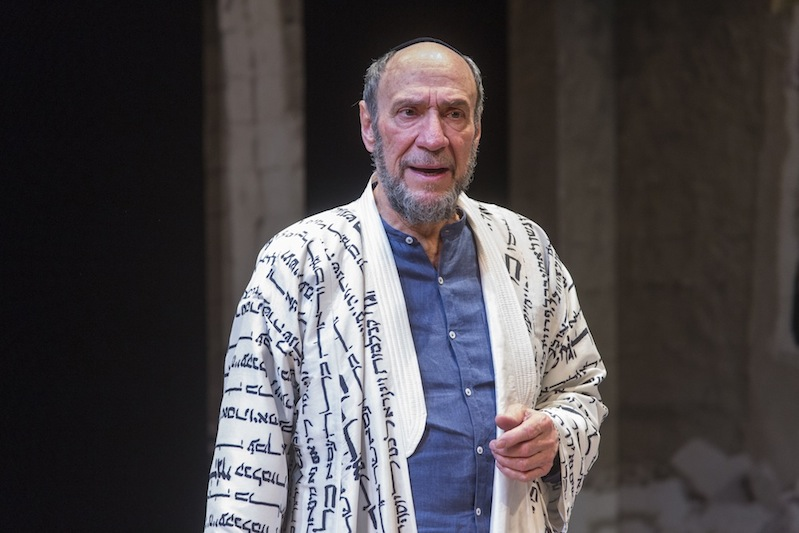 F. Murray Abraham as the title character in Classic Stage Company's production of Nathan the Wise. Classic Stage Company.