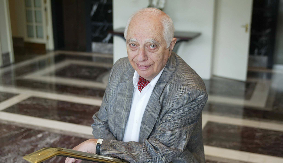Bernard Lewis in London in June 2002. Rex Features via AP Images.