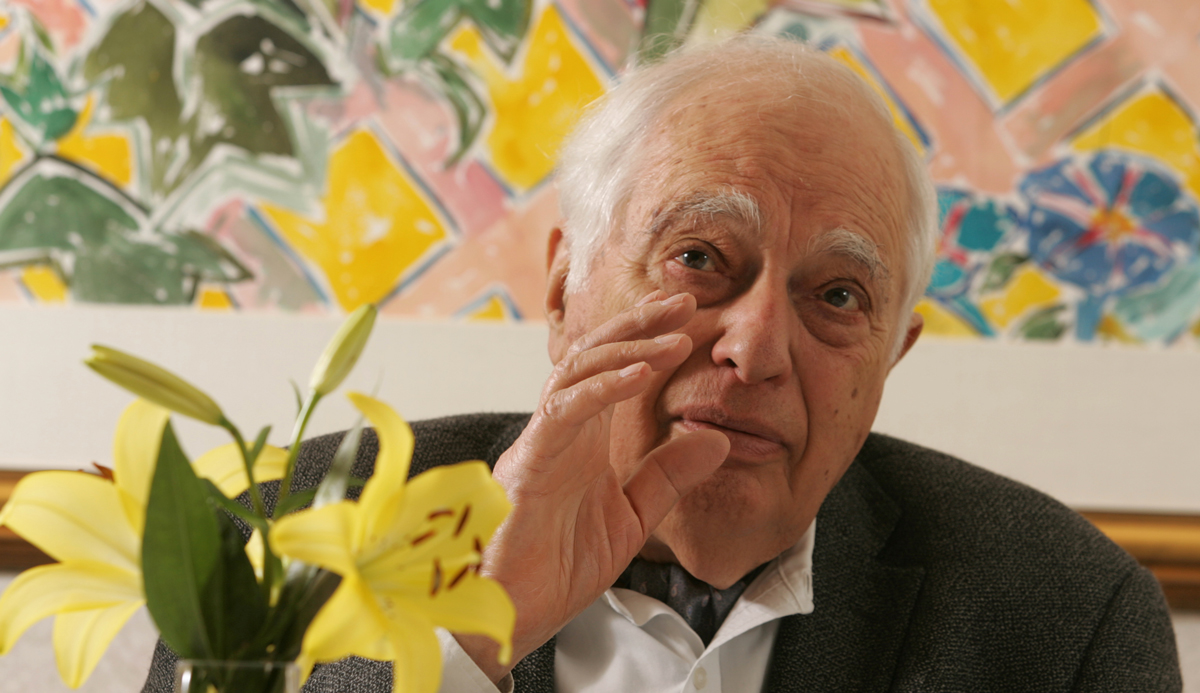 Bernard Lewis in 2006. Ron Bull/Toronto Star via Getty Images.