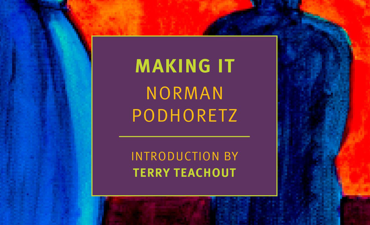 Join the Tikvah Fund for a Conversation with Norman Podhoretz on the Reissue of his Breakthrough Memoir