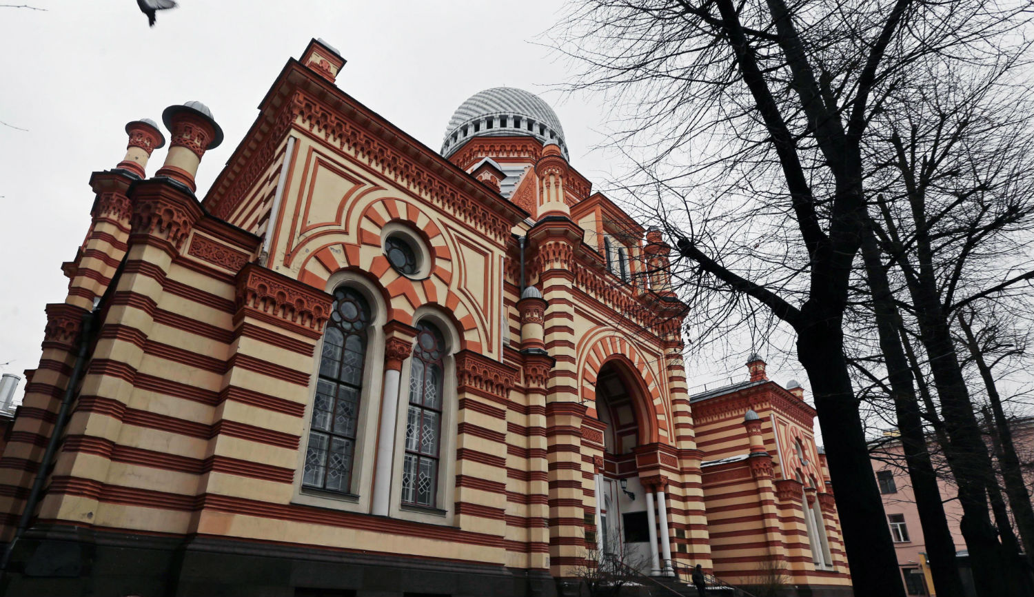 The Grand Choral Synagogue in St. Petersburg, Russia. Alexander DemianchukTASS via Getty Images).