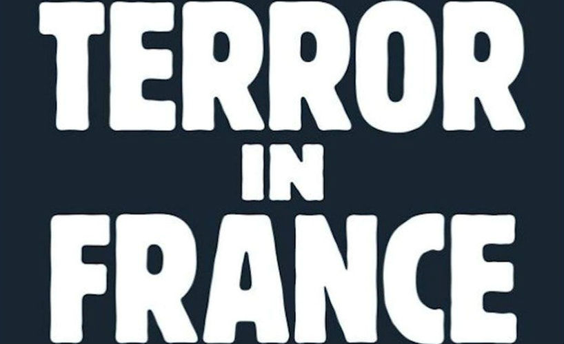 From the cover of Terror in France by Gilles Kepel. Princeton University Press.
