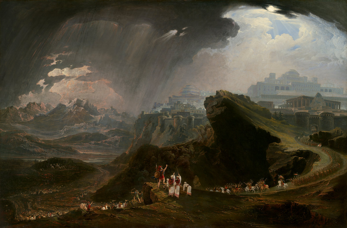 John Martin's Joshua Commanding the Sun to Stand Still upon Gibeon, 1816. National Gallery of Art.