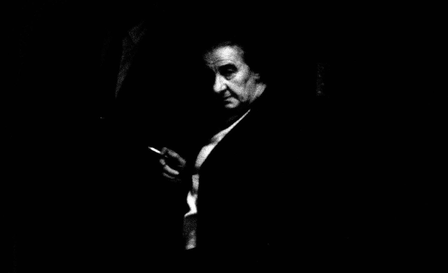 In the Knesset, when Golda Meir felt the need for a few puffs, she would leave the floor, go to the doorway, stand with one foot in and one foot out and listen to the debate while dragging on her cigarette. David Rubinger/CORBIS/Corbis via Getty Images.
