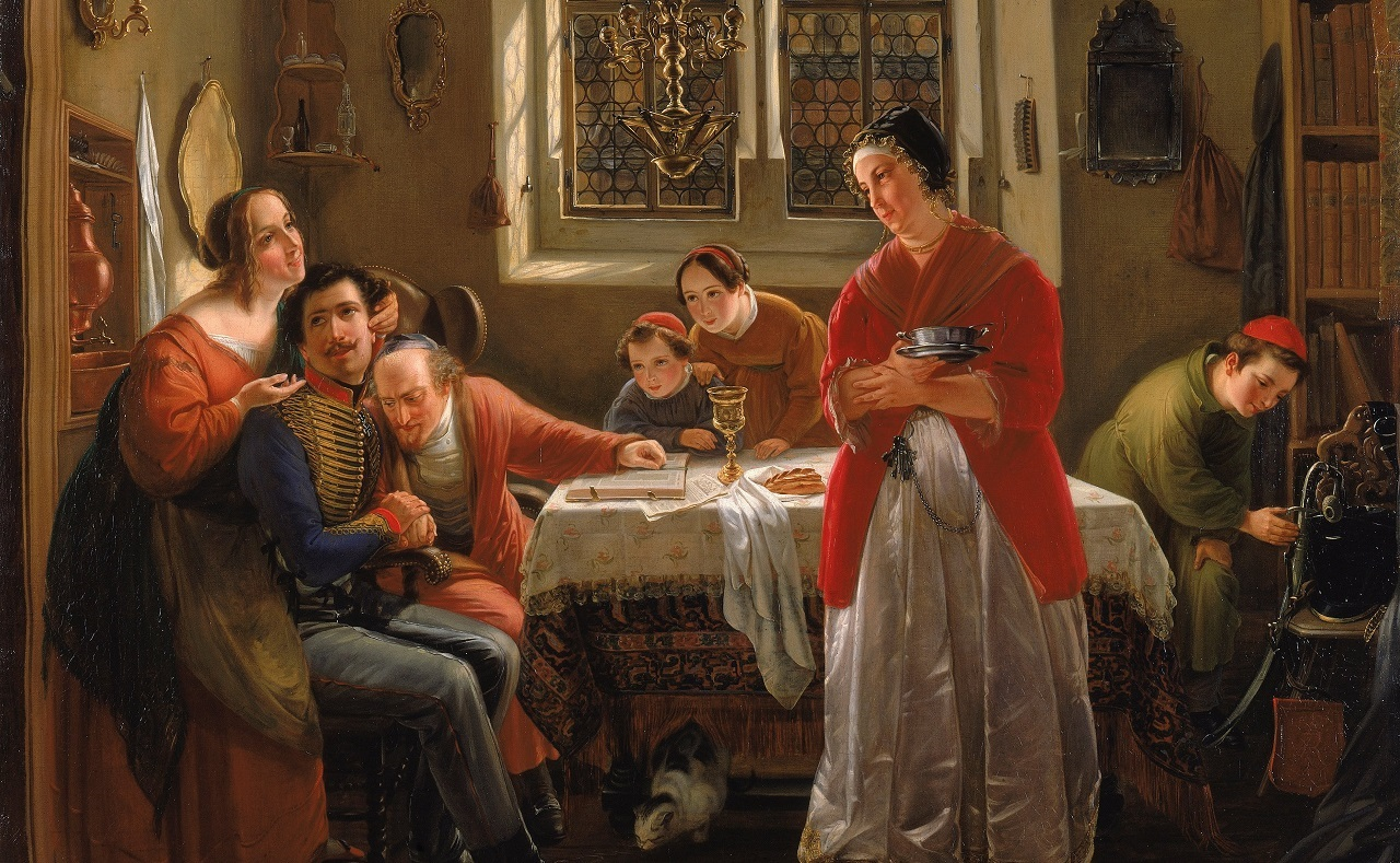 Who is Serenaded on Friday Night: the Woman of the House, or the Divine Presence?