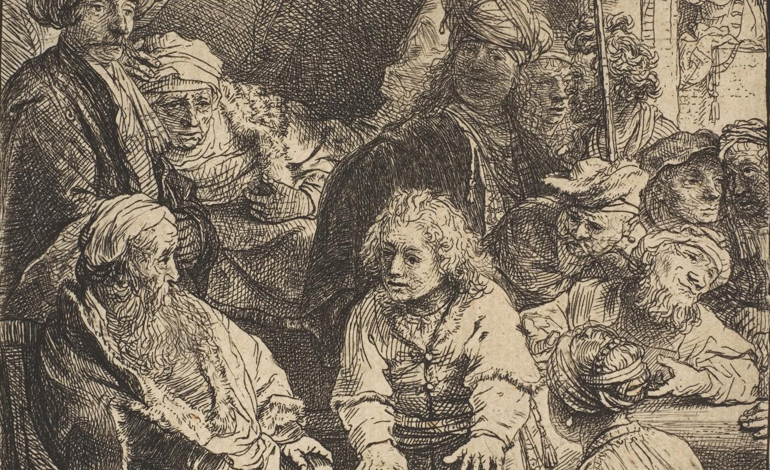 From Rembrandt'sJoseph Telling His Dreams, 1638. Metropolitan Museum of Art.