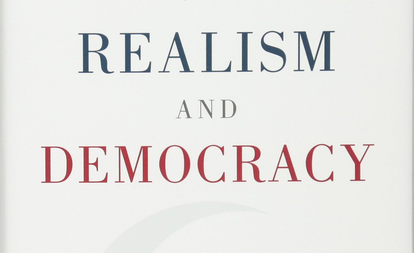 From the cover of Realism and Democracy by Elliott Abrams.