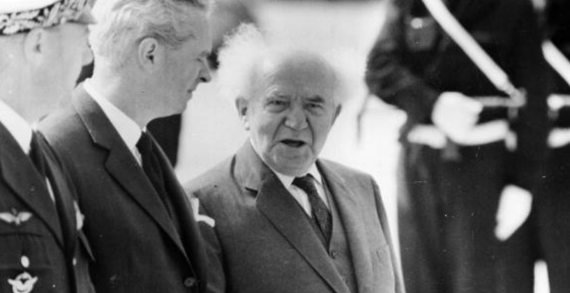 David Ben-Gurion's 1940 Mission to Rouse the Fighting Spirit of American Jews