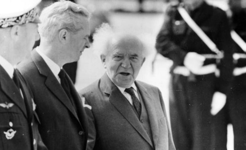 David Ben-Gurion in 1960. Keystone/Getty Images.