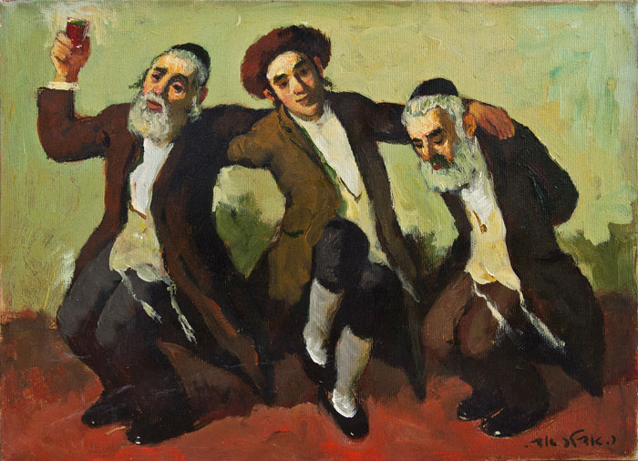 Ḥasidic Dance by Adolf (Adi) Adler.