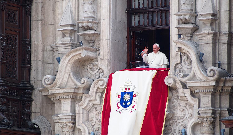 Pope Francis. Fotoholica Press/LightRocket via Getty Images.