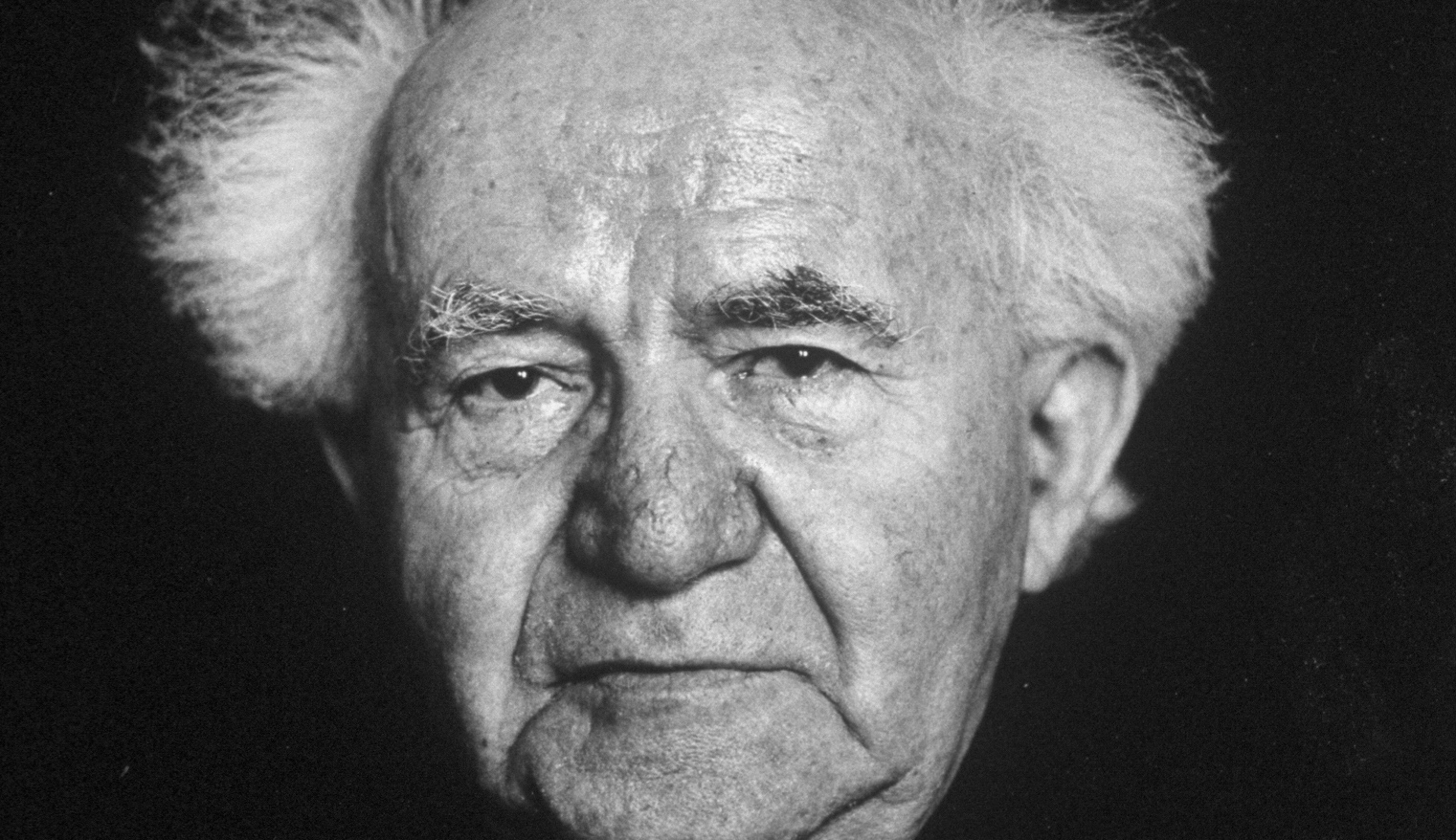 A portrait of David Ben-Gurion taken in the 1960s. Horst Tappe/Pix Inc./The LIFE Images Collection/Getty Images.