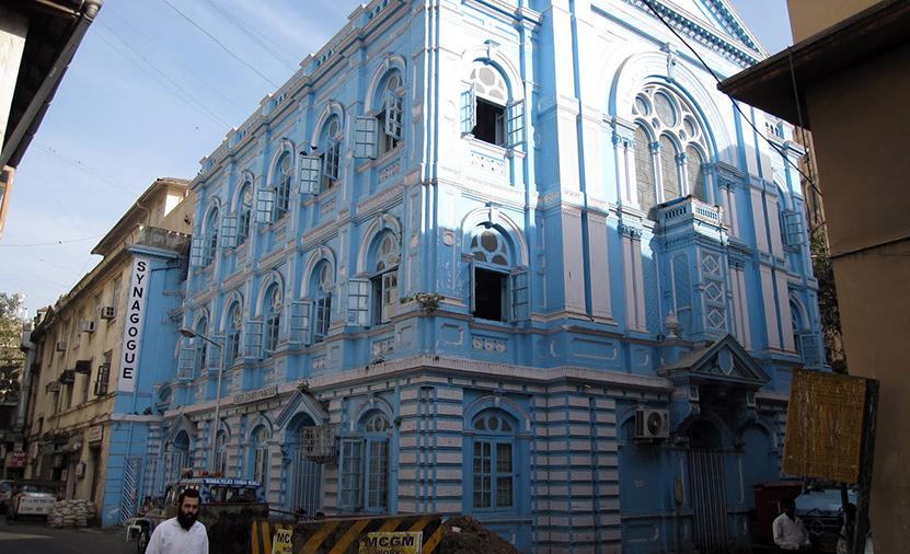 The Unique Architecture of Jewish India