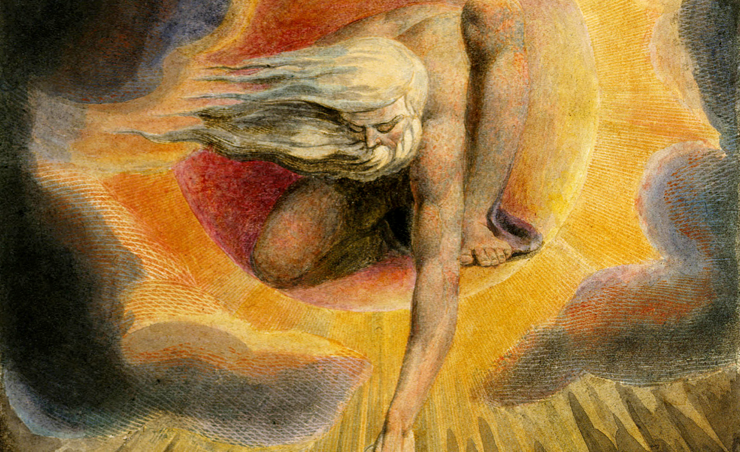 From The Ancient of Days by William Blake, 1794. Wikipedia.