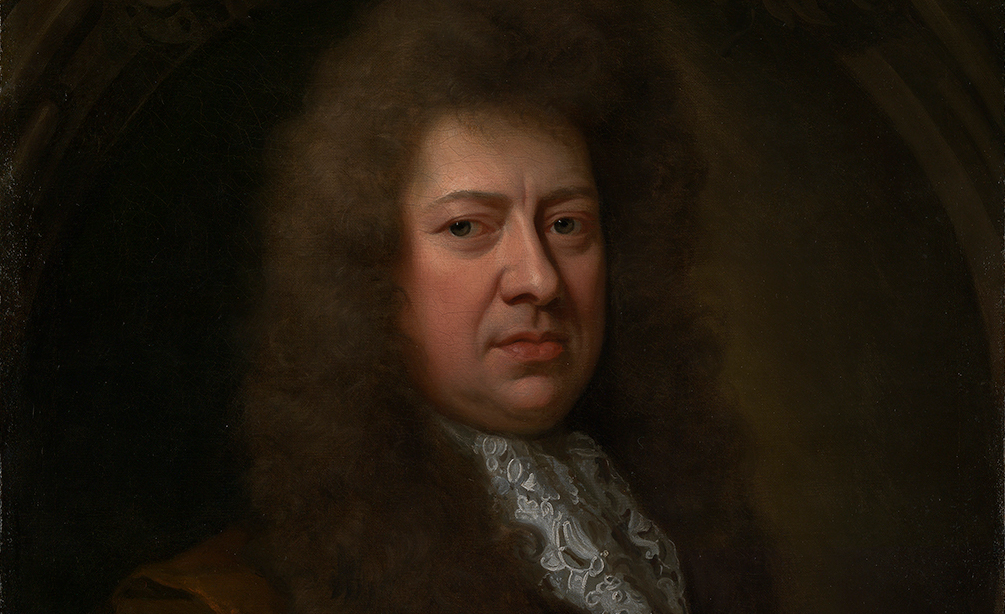 Samuel Pepys painted by Sir Godfrey Kneller in 1689. Wikipedia.