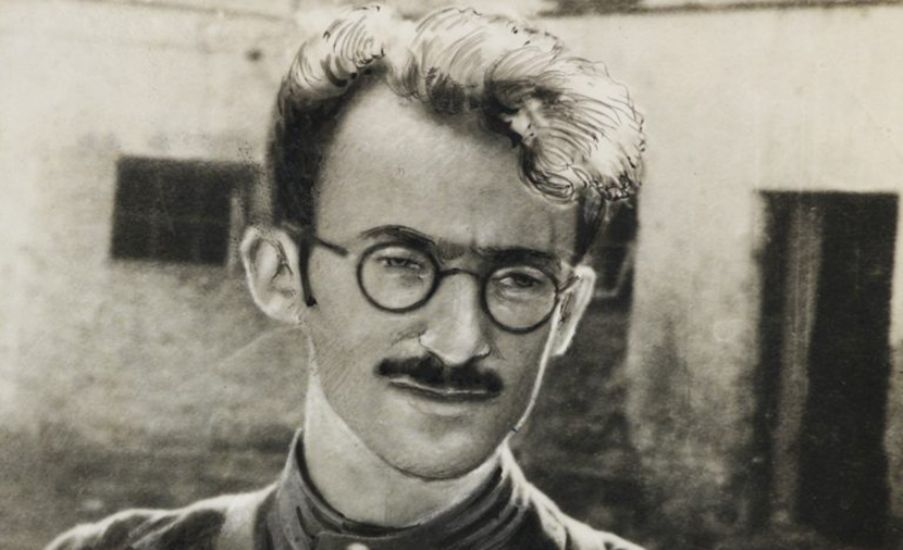 Avrom Sutzkever, the Yiddish poet, during his days as an anti-Nazi partisan in Poland.