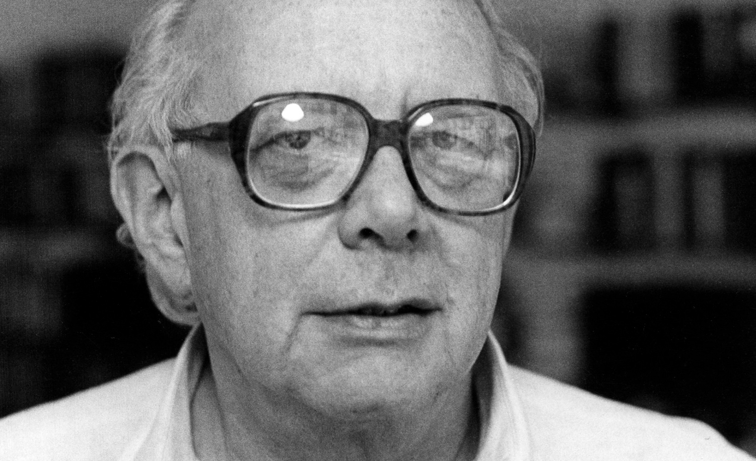 Irving Howe in New York in 1982. Fred W. McDarrah/Getty Images.