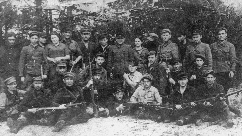 Jewish partisans in Poland during World War II. Jewish Virtual Library.
