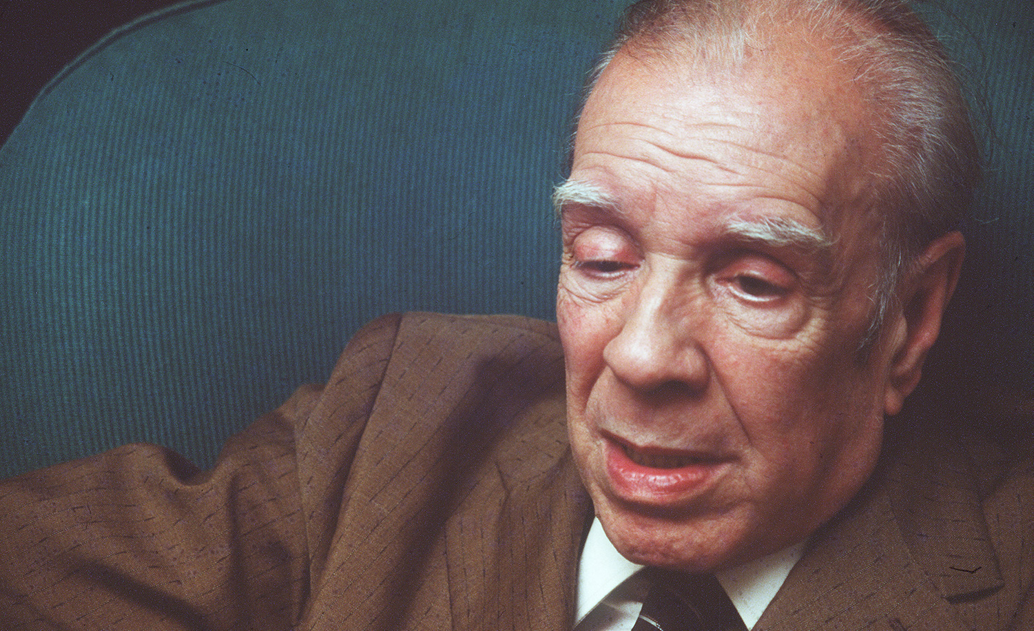 Jorge Luis Borges. Raul Urbina/Cover/Getty Images.