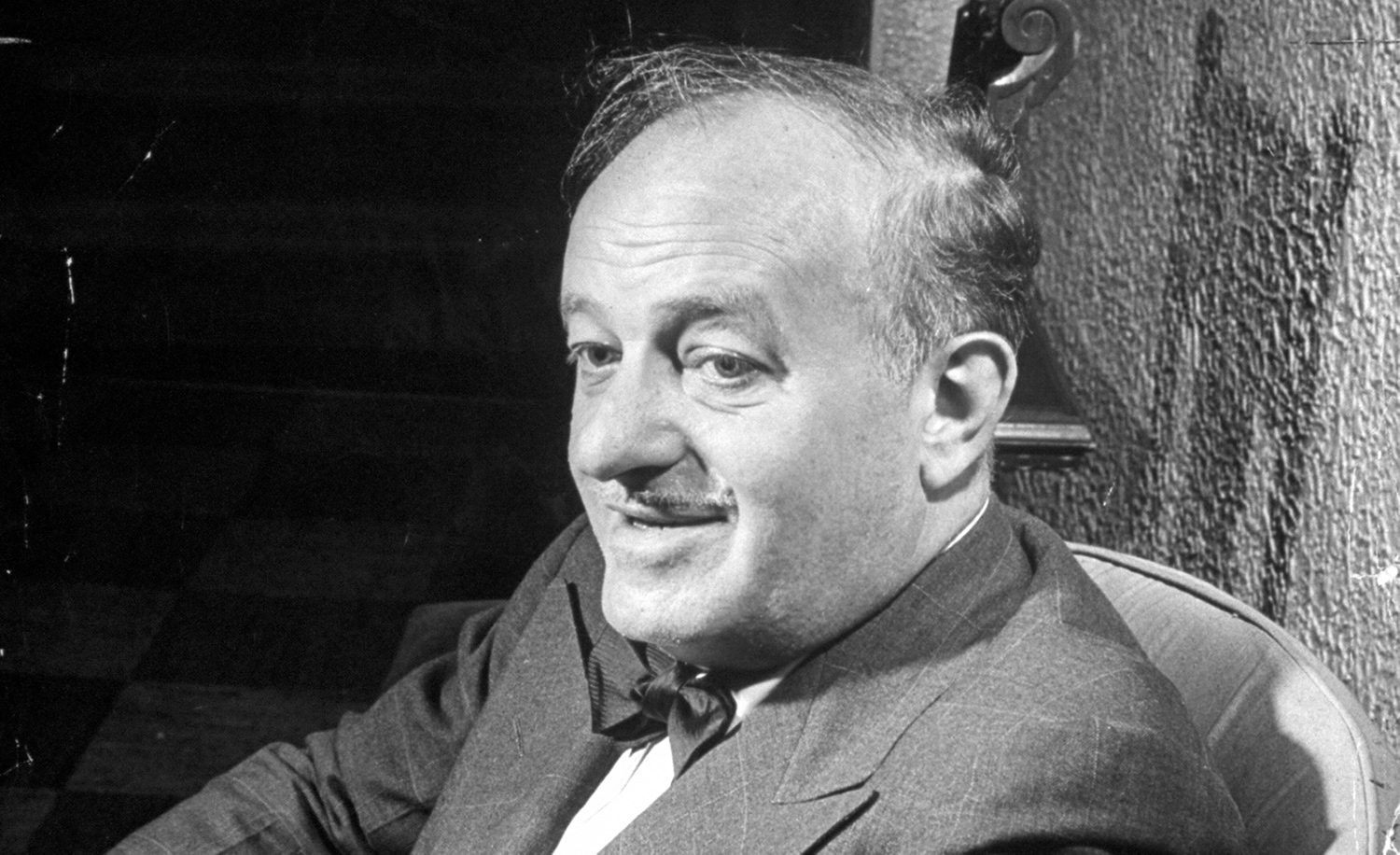 Ben Hecht in 1946. Eileen Darby/The LIFE Images Collection via Getty Images.