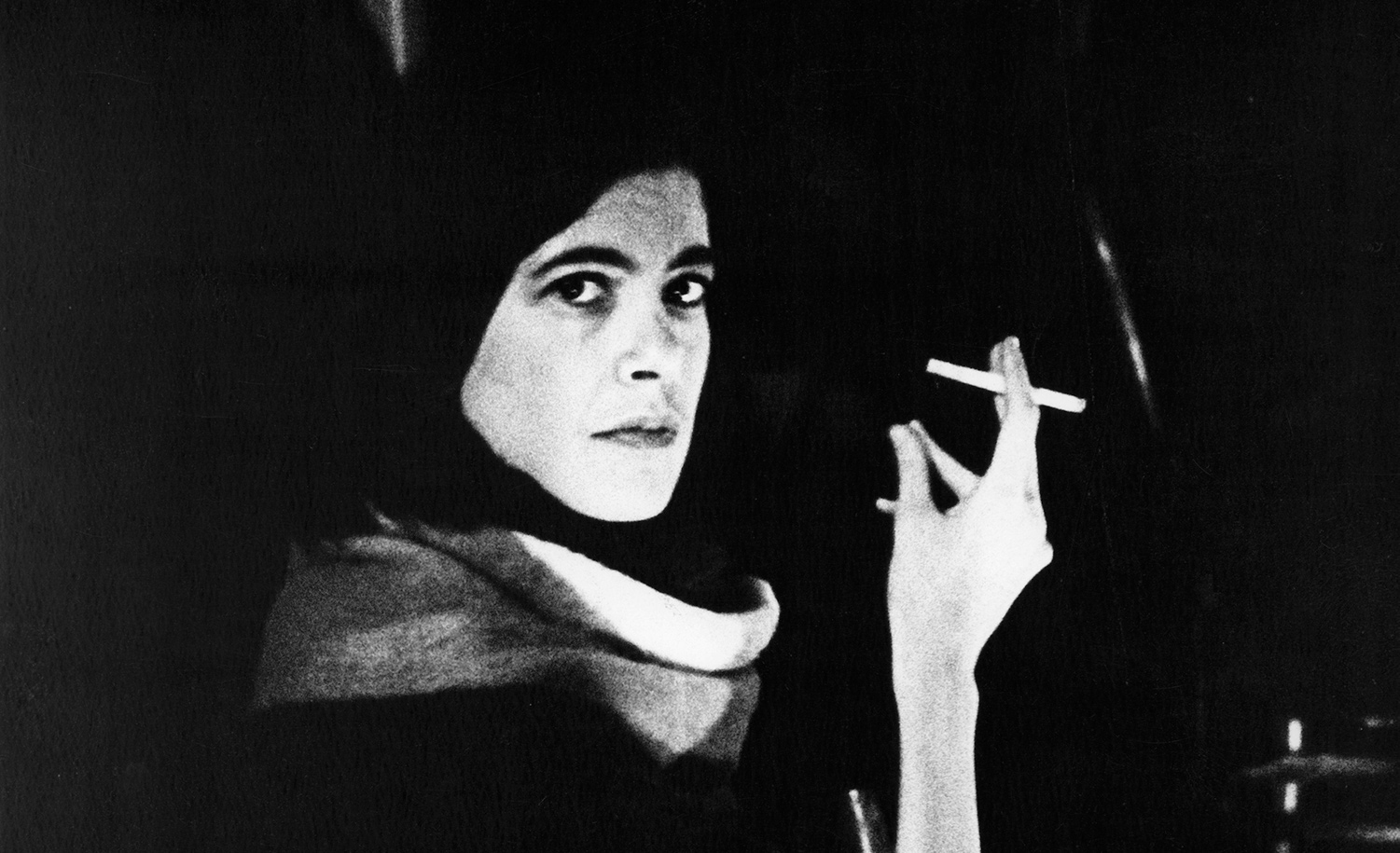 Susan Sontag in New York on December 2, 1962. Fred W. McDarrah/Getty Images.