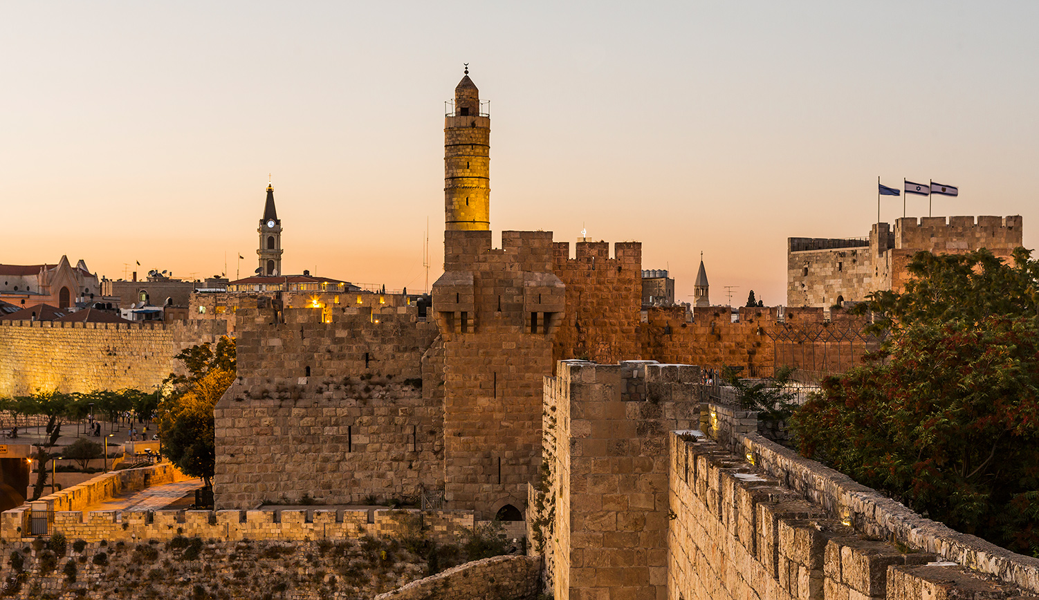 The Tower of David in Jerusalem. Atlantide Phototravel/Corbis/Getty Images.
