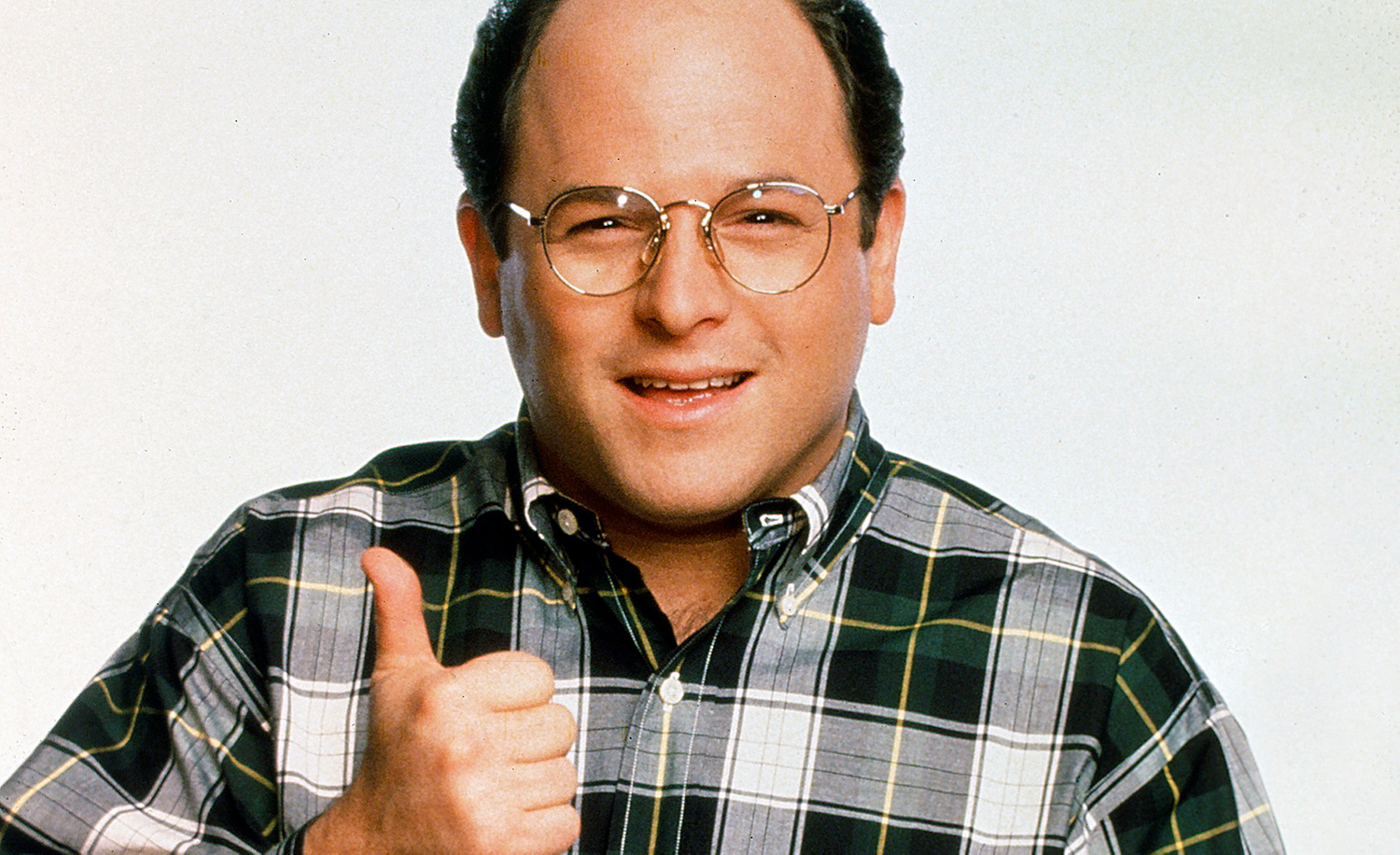 Jason Alexander as the Seinfeld character George Costanza. Andrew Eccles/NBCU Photo Bank/NBCUniversal via Getty Images.