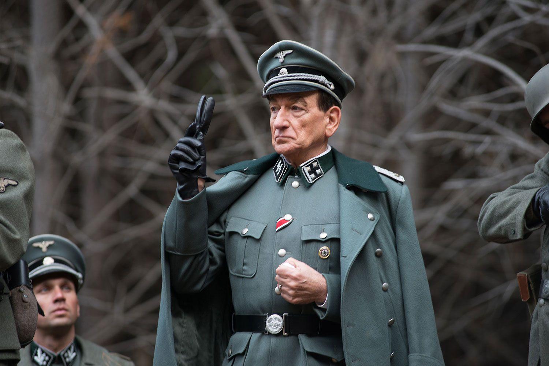 Ben Kingsley as Adolf Eichmann in Operation Finale, 2018.