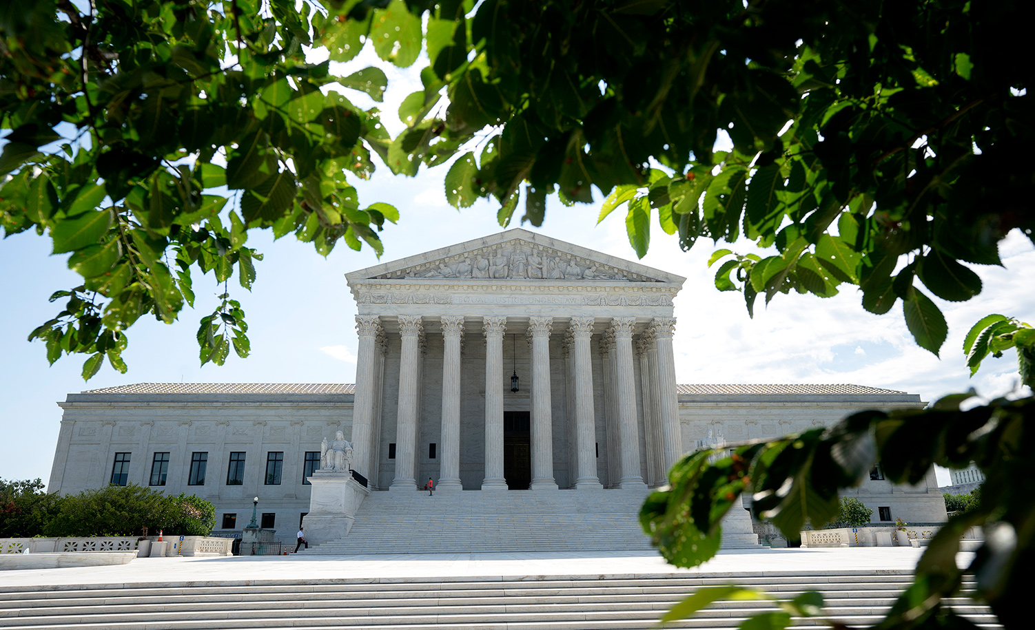 A general view of the U.S. Supreme Court on June 30, 2020 in Washington, DC. Stefani Reynolds/Getty Images.