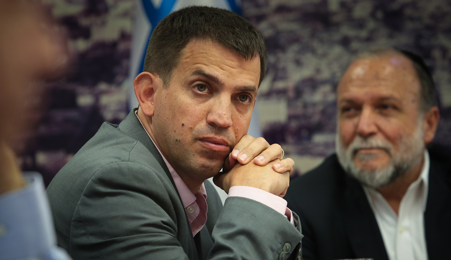 Former director of Israel's Budgets Department Shaul Meridor at the Finance Ministry in Jerusalem on September 23, 2019. Flash90.