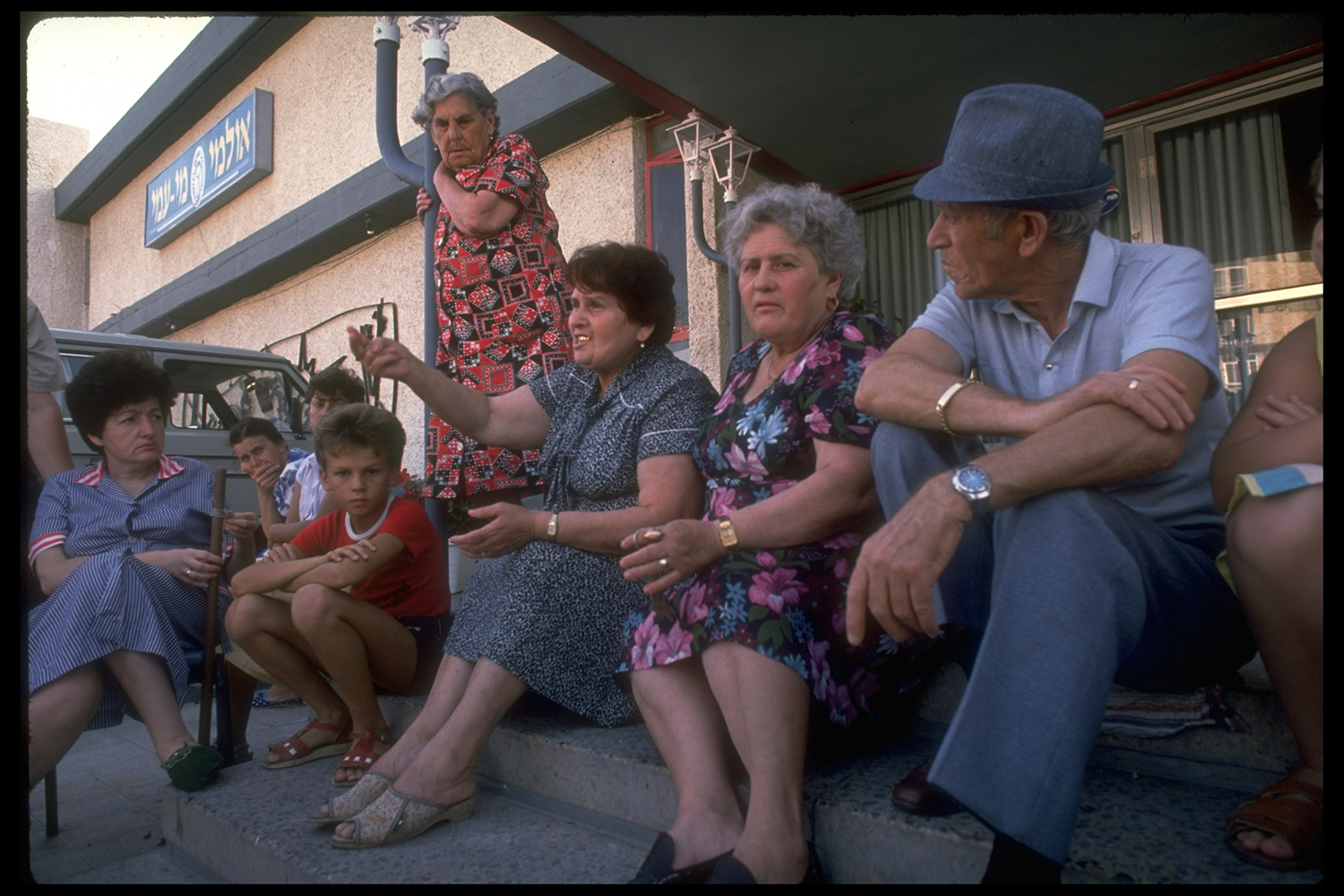 Russian immigrants to Israel temporarily housed in a hotel in 1989. David Rubinger/The LIFE Images Collection via Getty Images/Getty Images.