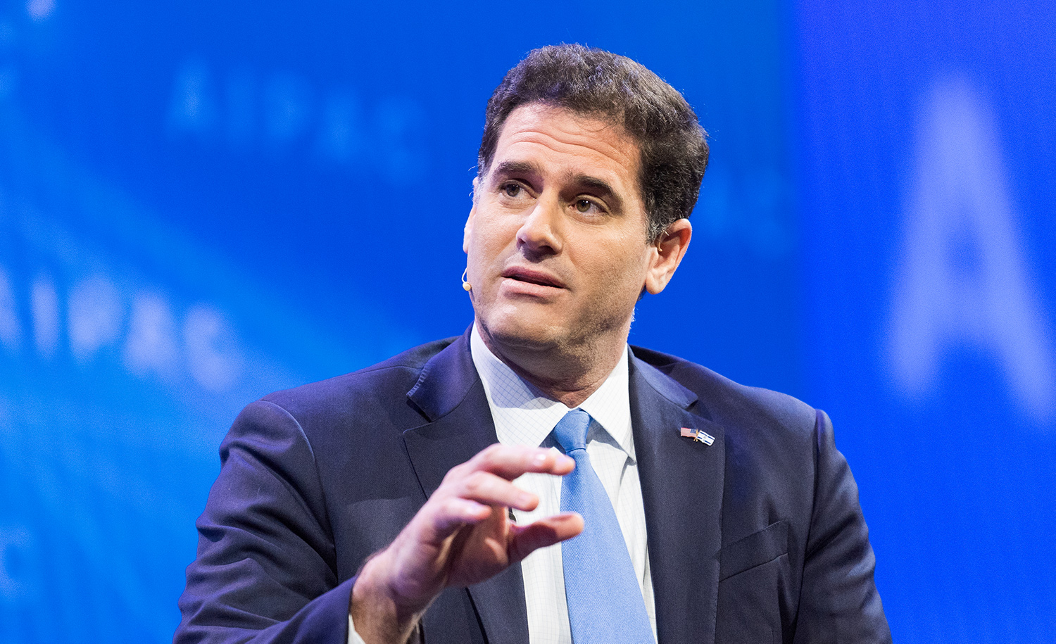 Ron Dermer at the AIPAC Policy Conference in Washington in 2018. Michael Brochstein/SOPA Images/LightRocket via Getty Images.