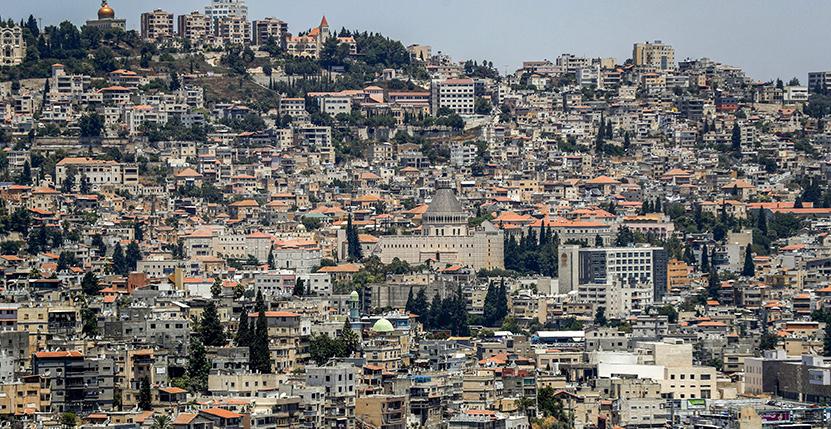 Nazareth in 2019. AHMAD GHARABLI/AFP via Getty Images.