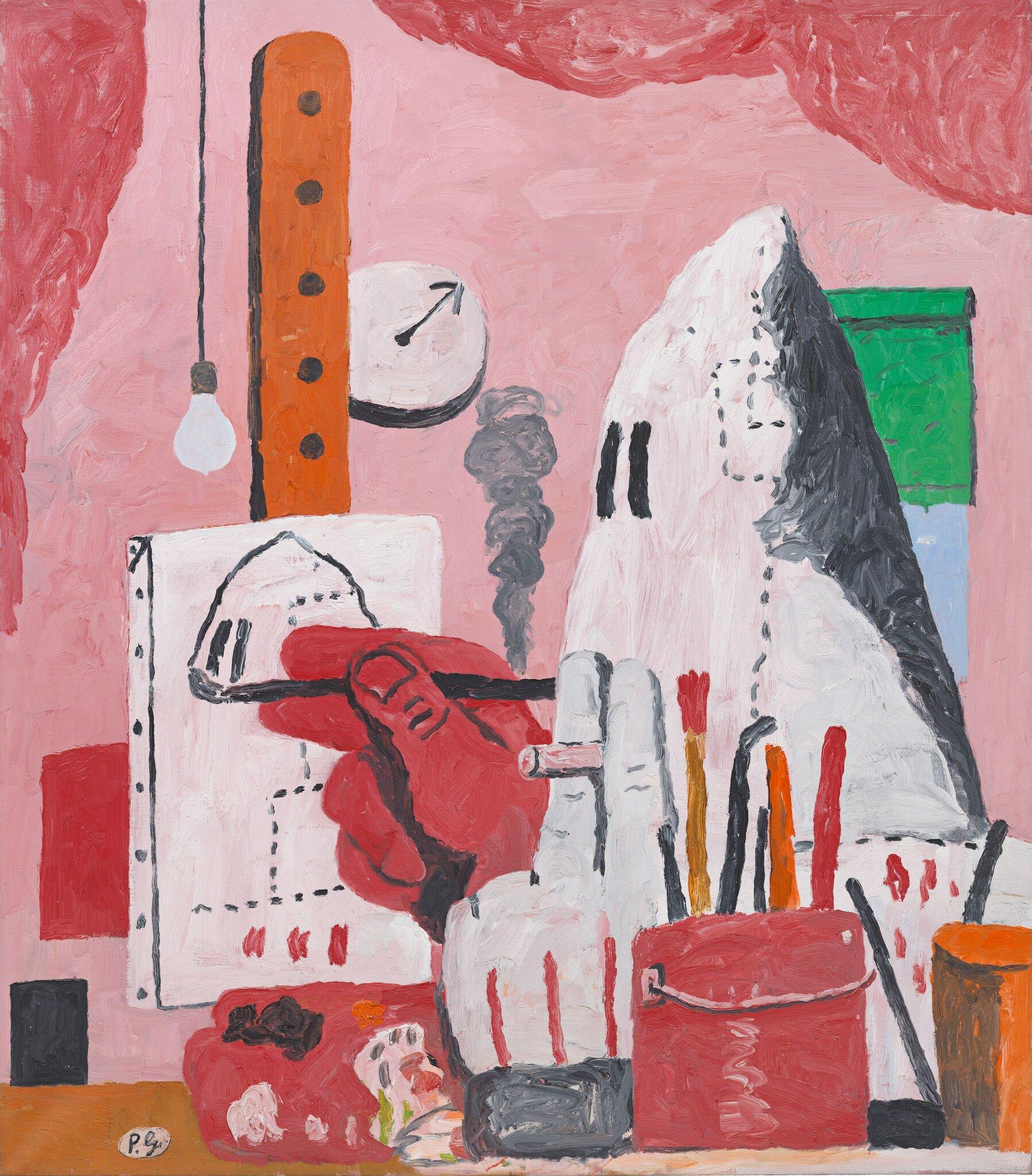 The Studio, 1969, by Philip Guston. © The Estate of Philip Guston.