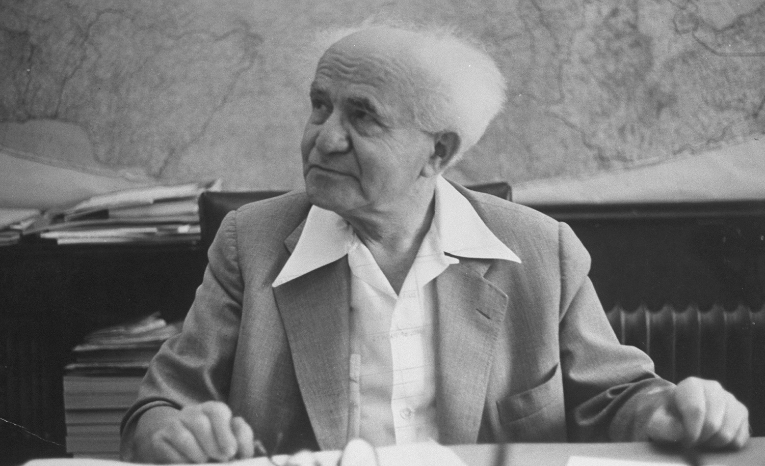 Against Court and Constitution: A Never-Before-Translated Speech by David Ben-Gurion