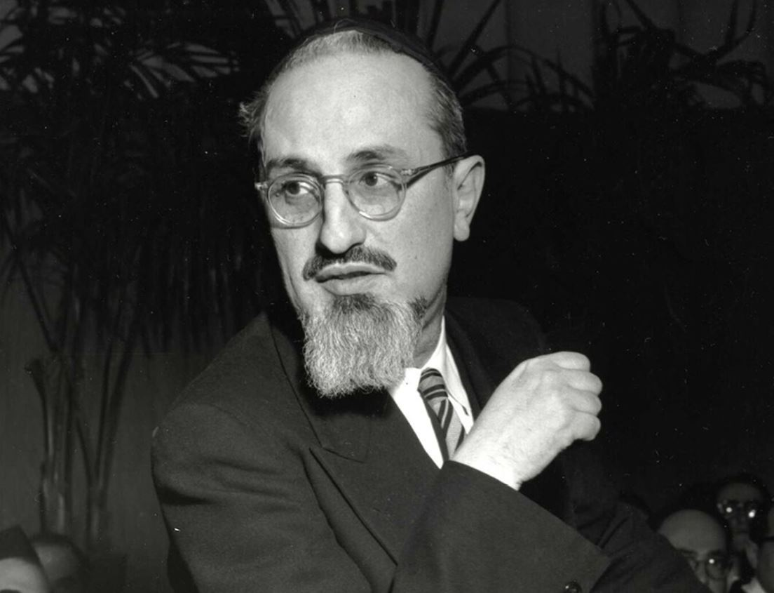 Rabbi Joseph B. Soloveitchik.