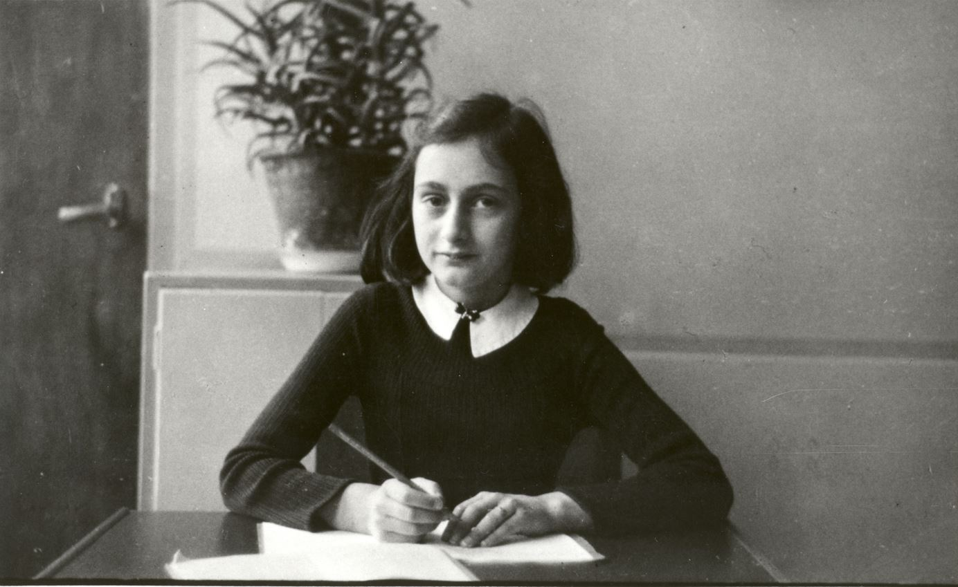 Anne Frank in the early 1940s before going into hiding. Anne Frank Fonds – Basel via Getty Images.