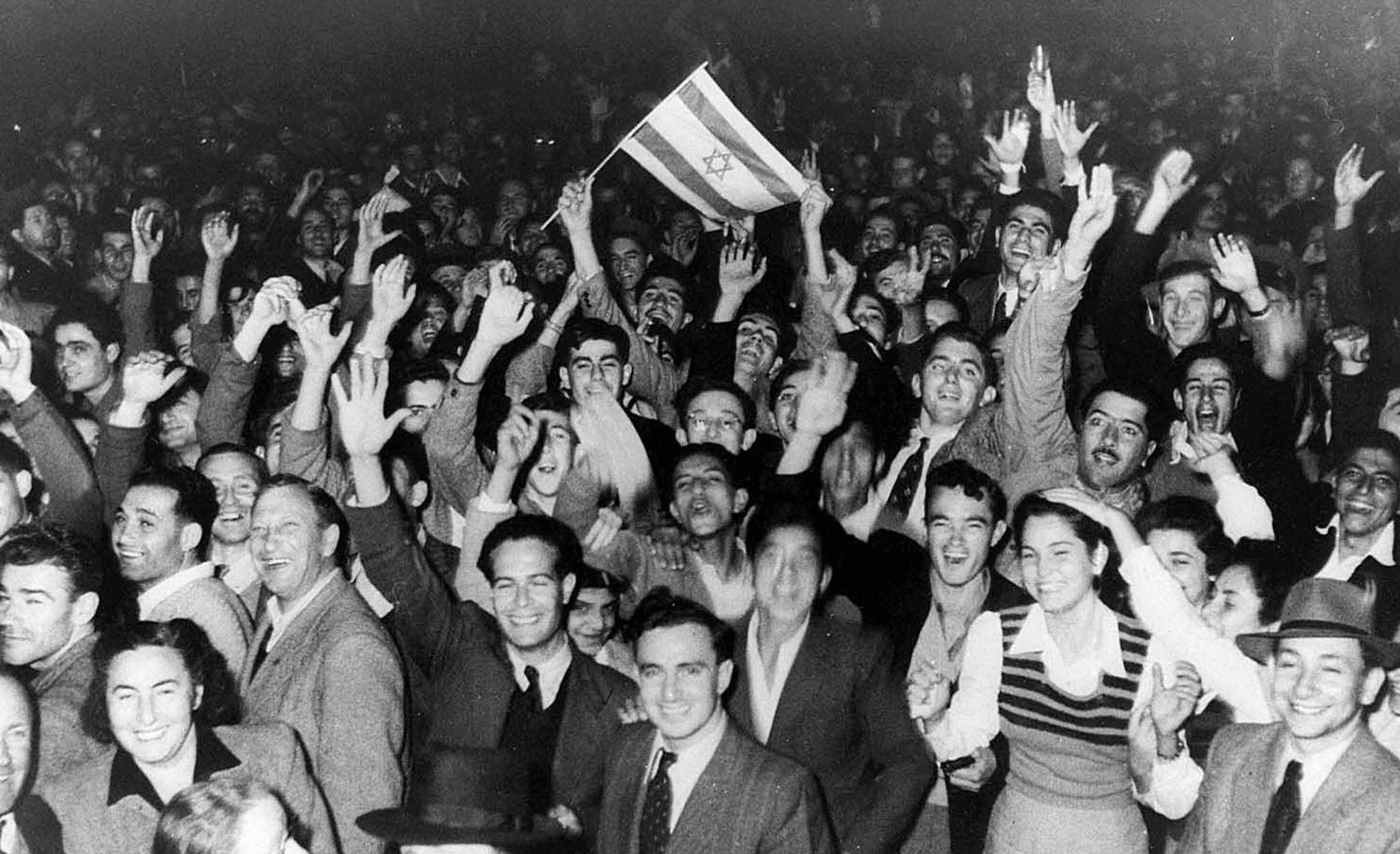 Whose Rights Did Israel Recognize in 1948?