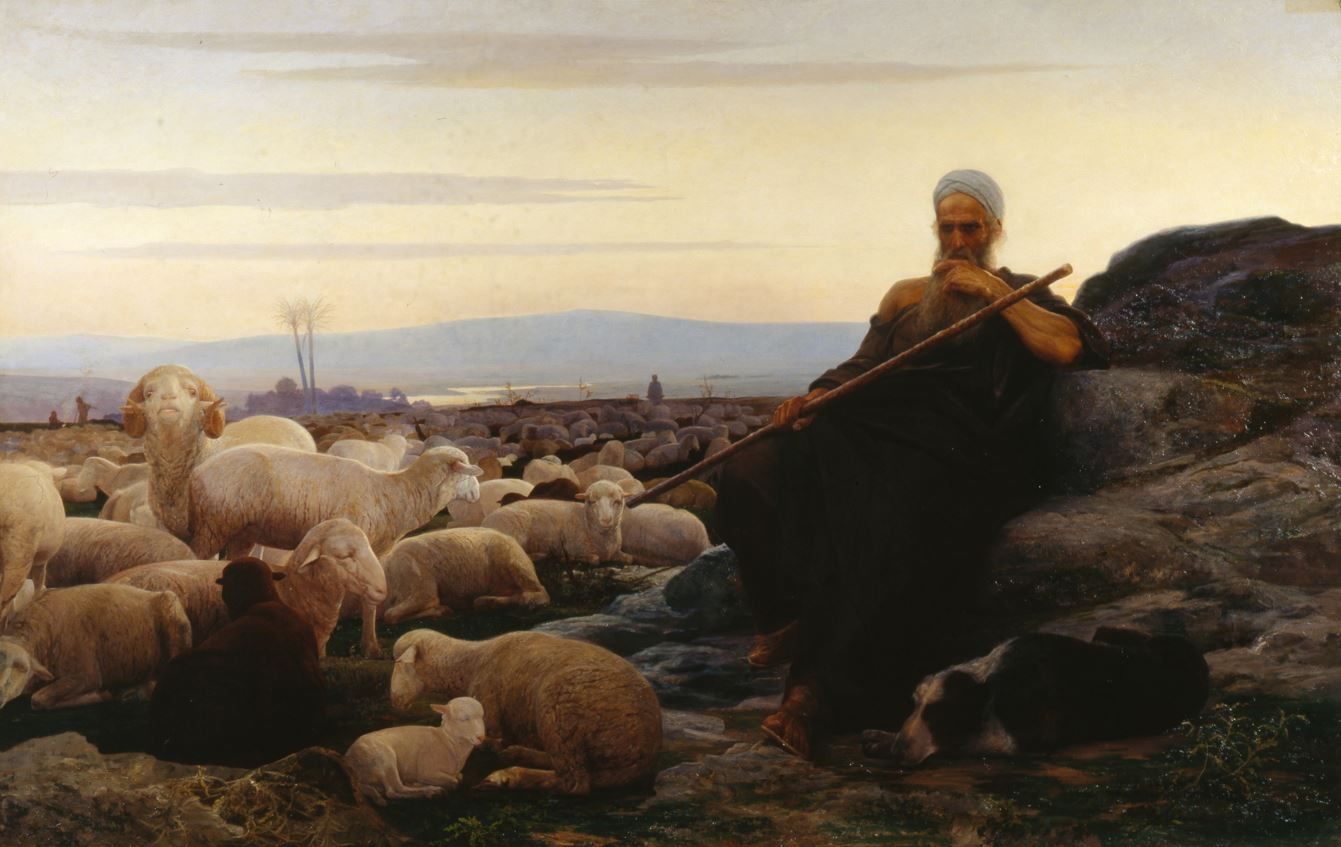 """The 1899 painting """"Ecclesiastes"""" by the Russian Jewish artist Isaac Asknaziy (1856-1902). Photo by Fine Art Images/Heritage Images/ via Getty Images."""