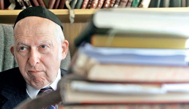 Who Is Aharon Lichtenstein?