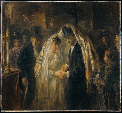 A Jewish Wedding. Jozef Israëls, 1903. Rijksmuseum, Amsterdam.